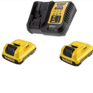 Dewalt Pack 2 x 10.8volt Batteries and charger 240volt