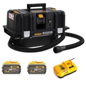 DeWALT DCV586MX2-GB Cordless Dust Extractor 2 x 9amp batteries