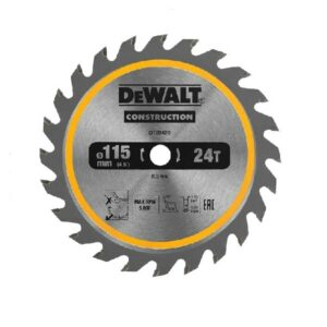 DeWALT DT20420-QZ Saw Blade Wood 115 x 9.5 24 teeth