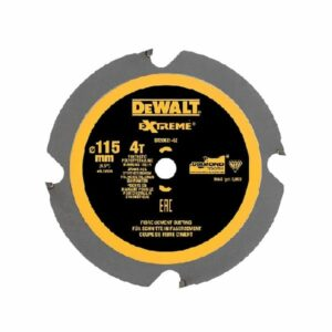 DeWALT DT20421-QZ PCD Saw Blade 115 x 9.5 4 teeth