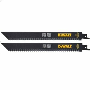 DeWALT DT245O-QZ Insulation Sabre Reciprocating Saw Blade 225mm (Pk 2)