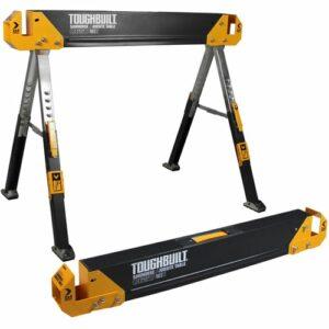 ToughBuilt C650 Pair Saw Horses 1180kg capacity T/BC6502
