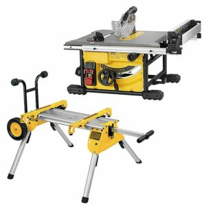 DeWALT DWE7485 Compact Table Saw 210mm and DE7400-XJ stand