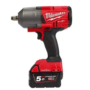 Milwaukee M18ONEFHWIF34-502X Impact Wrench 18V 3/4dr 2x5amp batteries charger