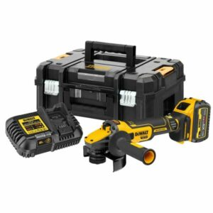 DeWALT DCG409T1-GB 18V & 54V Heavy Duty Angle Grinder 1x6amp battery Brushless - Tool Equip