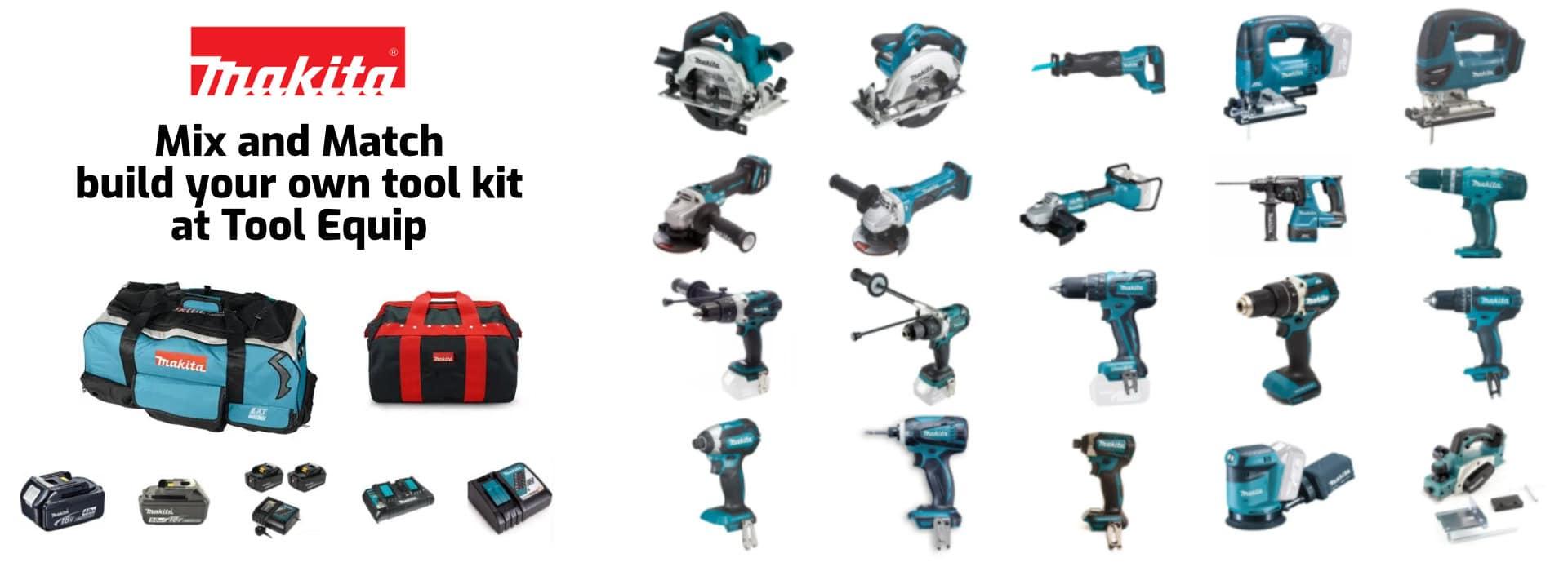 build your own makita tool kit