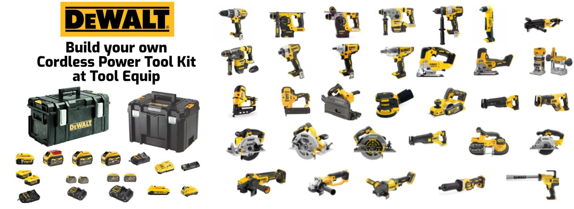 Make your own Dewalt power tool kit